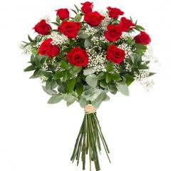 Ramo Pasión 12 rosas