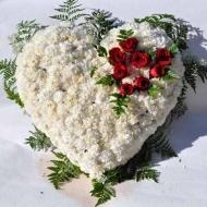 Corazón Clavel y Rosas